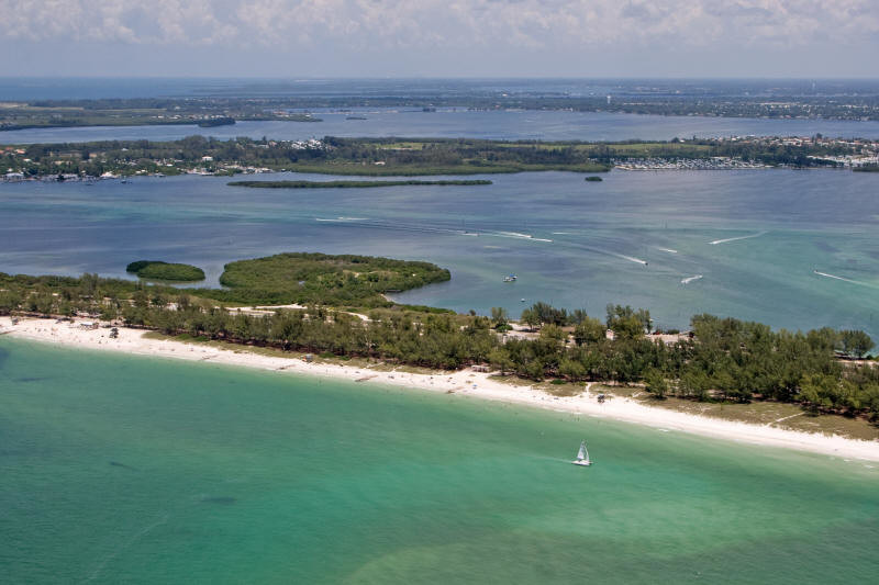 Venice Florida Area Aerial Photograph
